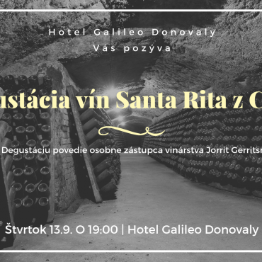 Wine tasting of Chilean winery Santa Rita